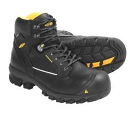 Keen Portland Work Boots - Waterproof, Composite Toe (For Men)