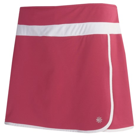 Semi-Fitted Mesh-Lined Skort (For Women)