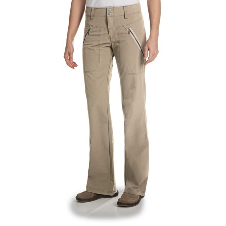 Lightweight Quick-Dry Zip Pocket Pants (For Women)