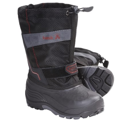 Kamik Coaster Winter Boots - Waterproof, Insulated (For Kid Boys and Girls)