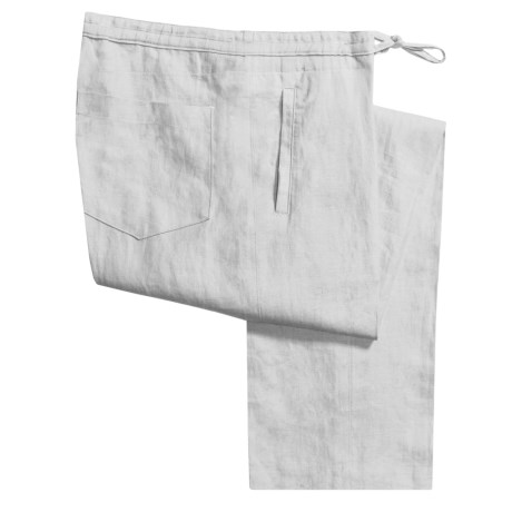 Toscano Linen Drawstring Pants (For Men)