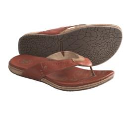 Merrell Tudor Thong Sandals - Flip-Flops, Leather (For Men)