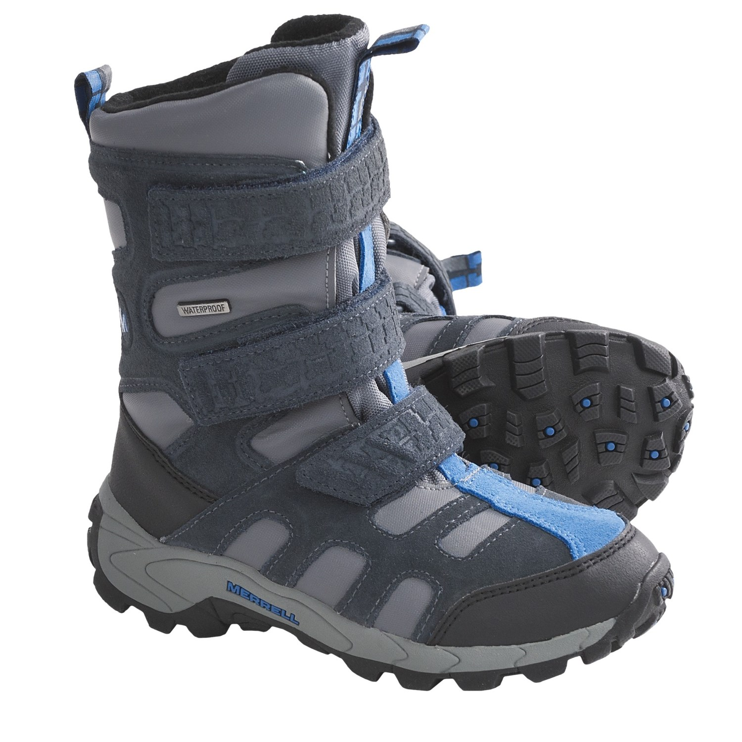 Merrell Moab Polar Snow Boots (For Kids and Youth) 5862A ...