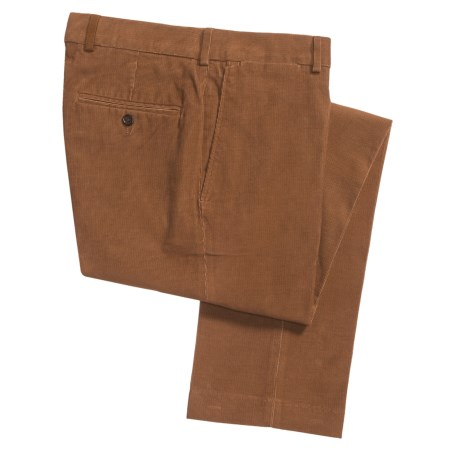 18-Wale Corduroy Pants - Slim Fit (For Men)