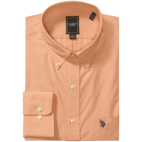 U.S. Polo Assn. Easy-Care Shirt - Button-Down Collar, Long Sleeve (For Men)