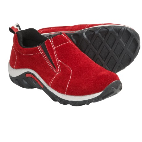 Merrell Jungle Moc Shoes - Suede (For Boys and Girls)