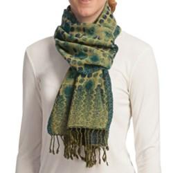 Asian Eye Lumi Scarf - Reversible, Boiled Wool (For Women)