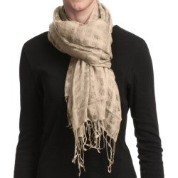 Asian Eye Grace Shawl - Wool (For Women)