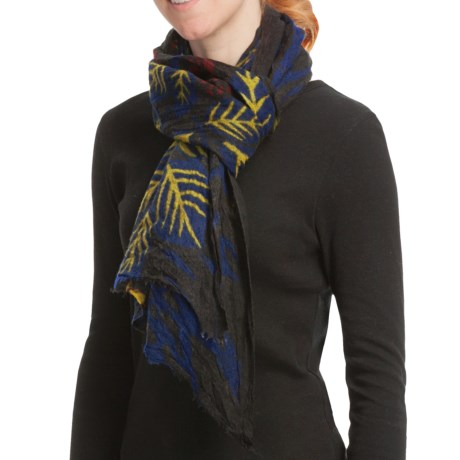 Asian Eye Kauai Scarf - Boiled Wool (For Women)