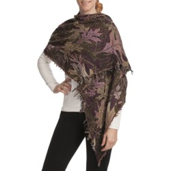 Asian Eye Oku Shawl - Wool (For Women)