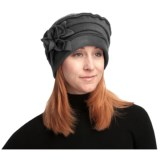 Asian Eye Nikki Fashionable Fleece Hat - Floral Accent (For Women)