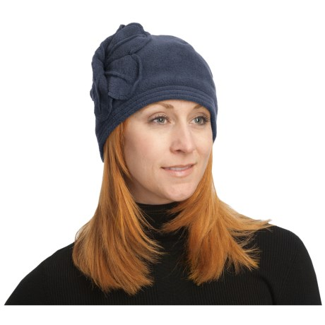 Asian Eye Flora Cap - Fleece (For Women)