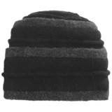 Asian Eye Coraline Turban Hat - Boiled Wool (For Women)