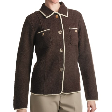 Country Fashion by Venario Carol Jacket - Boiled Wool (For Women)
