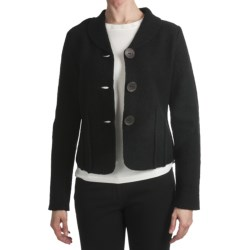 Country Fashion by Venario Boiled Wool Jacket (For Women)