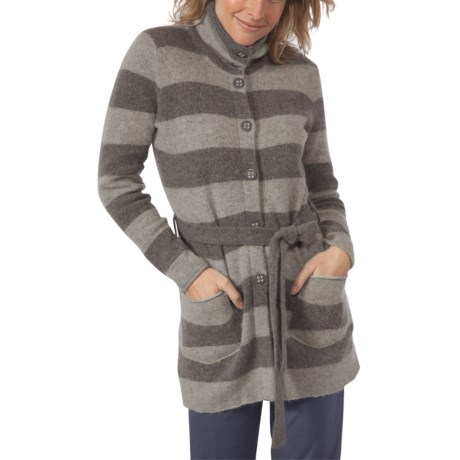 Toad&Co Horny Toad Heartfelt Long Sweater - Boiled Lambswool (For Women)