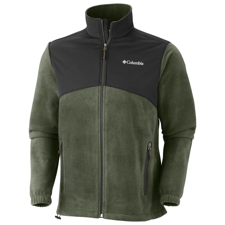 columbia sportswear steens mountain tech jacket for