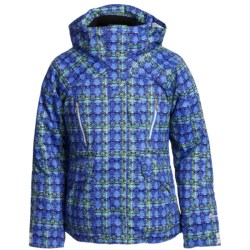 Obermeyer Stella Plaid Jacket - Insulated (For Girls)