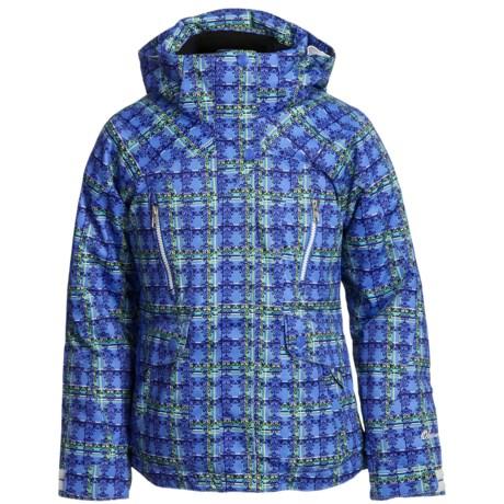 Obermeyer Stella Plaid Jacket - Insulated (For Girls)