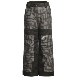 Obermeyer Prophet Print Snow Pants - Insulated (For Boys)