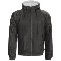Specially made Hooded Windbreaker Jacket - Jersey Knit Lining (For Men)