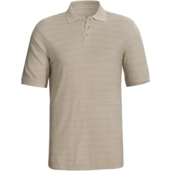 Cotton Pique Polo Shirt - Short Sleeve (For Men)