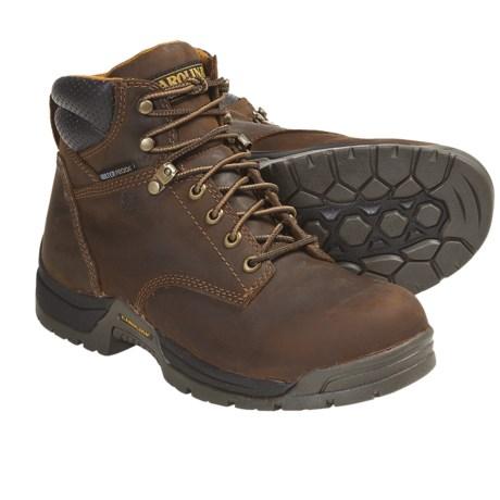 Carolina Shoe Soft Toe Work Boots - Waterproof, Leather (For Women)