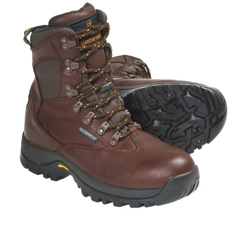 "Browning Scrambler 6"" Hunting Boots - Waterproof, Insulated, Leather (For Women)"