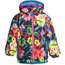 Obermeyer Serenity Print Jacket - Insulated (For Little Girls)