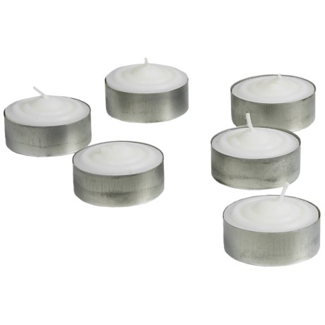 eGear Tea Candles - 6-Pack