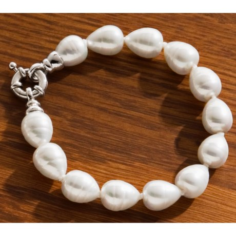 Joia De Majorca Pear Bracelet - Baroque Pearl