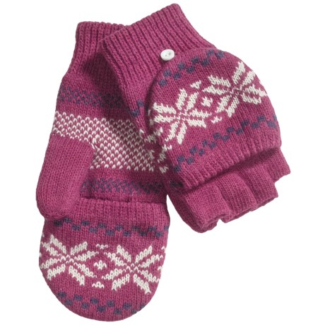 Grand Sierra Knit Mitten-Gloves (For Women)