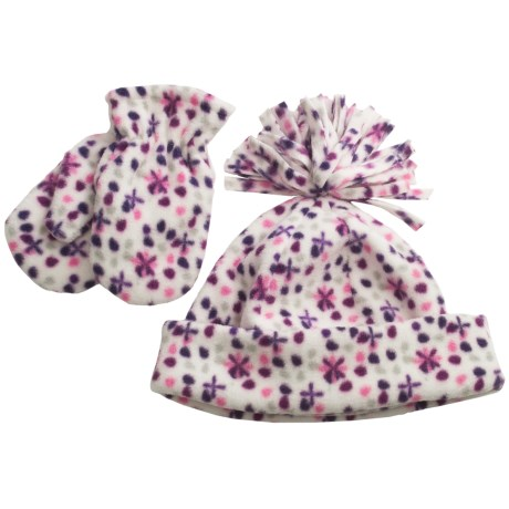 Grand Sierra Fleece Hat and Mitten Set (For Toddlers)
