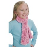 Grand Sierra Spacedye Feather Eyelash Scarf (For Girls)