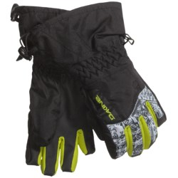 DaKine Tracker Jr. Gloves - Waterproof, Insulated (For Little and Big Kids)