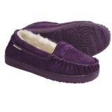 Bearpaw Brigetta Slippers - Suede, Sheepskin Lining (For Women)