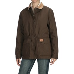 Powder River Outfitters Canvas Rancher Coat - Zip-Out Liner (For Women)
