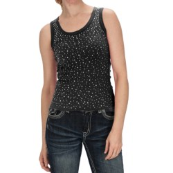 Panhandle Slim Clubwear Studded Tank Top (For Women)