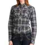 Panhandle Slim Plaid Shirt - Long Sleeve (For Women)