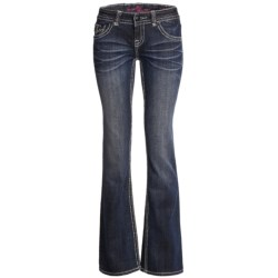 Rock & Roll Cowgirl Studded Jeans - Low Rise, Bootcut (For Women)