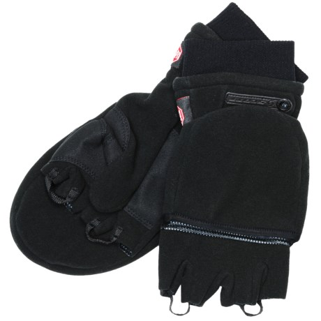 SCOTT Sports Scott Windstopper® Flip-Top Mittens - Fleece (For Men and Women)