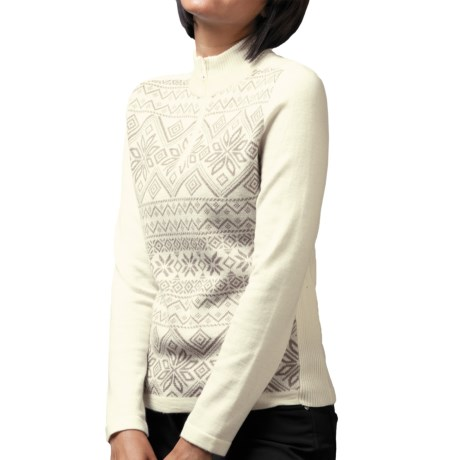 Meister Lara Sweater - Wool Blend, Zip Neck (For Women)