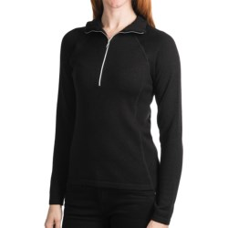 Meister Hayley Sweater - Wool Blend, Zip Neck (For Women)