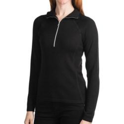 Meister Hayley Sweater - Wool Blend, Zip Neck (For Women)