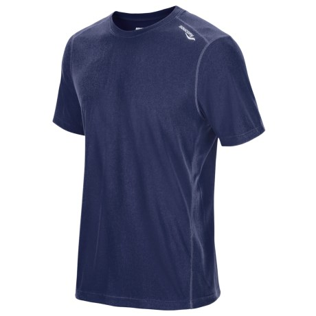 Saucony HydraMAX Shirt - UPF 40-50+, Short Sleeve (For Men)