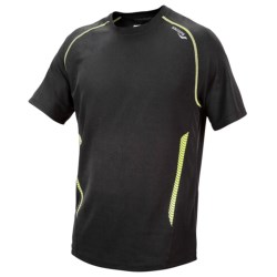 Saucony Kinvara Shirt - UPF 40-50+, Short Sleeve (For Men)