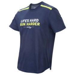 Saucony Statement Shirt - UPF 40-50+, Short Sleeve (For Men)