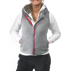 Kavu Kanaka Hooded Vest - Zip Front (For Women)