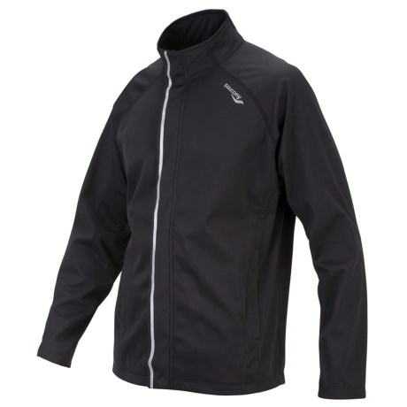Saucony Shadowlite Soft Shell Jacket (For Men)