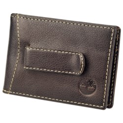 Timberland Flip Clip Wallet - Antiqued Leather
